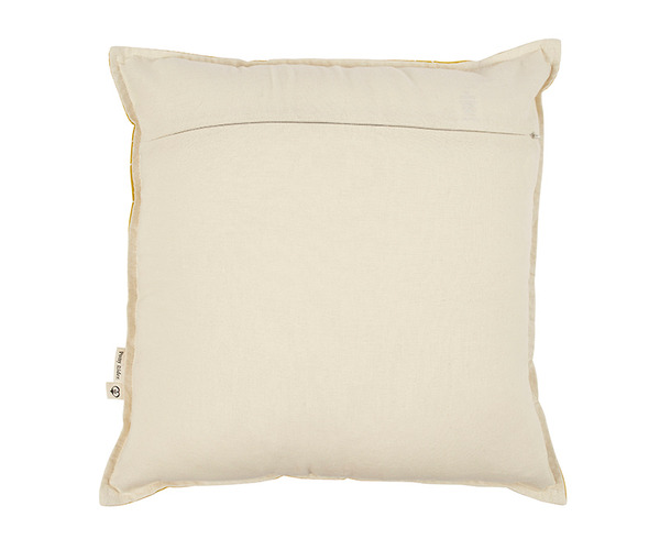 Yellow Traveller Cushion Cover