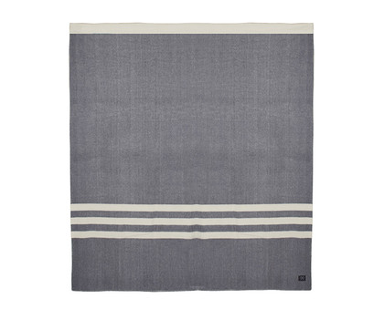 Wanderluster Merino Wool Blanket _ King Grey