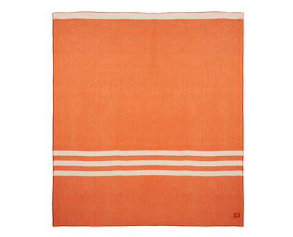 Wanderluster Merino Blanket - King Orange