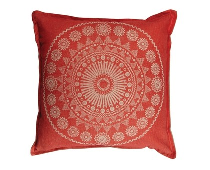 Moroccan Cushion Cover - Red