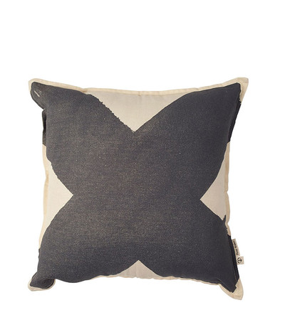 X Cushion Cover - Charcoal