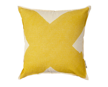 X Cushion Cover - Ochre