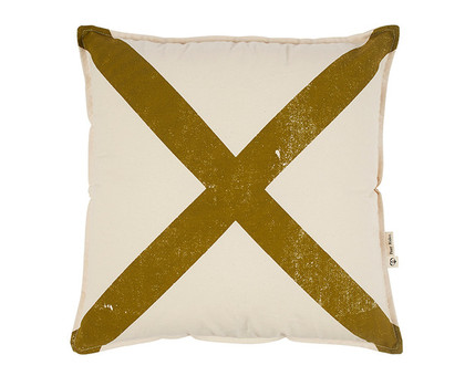 Mr X Cushion Cover - Olive