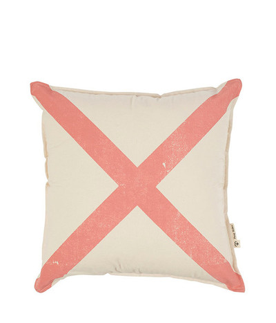Mr X Cushion - Peach