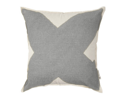 X Cushion Cover - Cool Grey