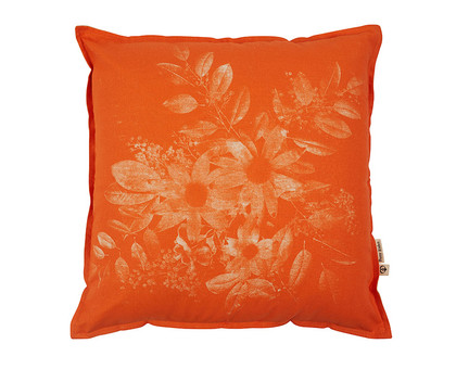 Wild Fire Cushion 45cm - Orange Cushion