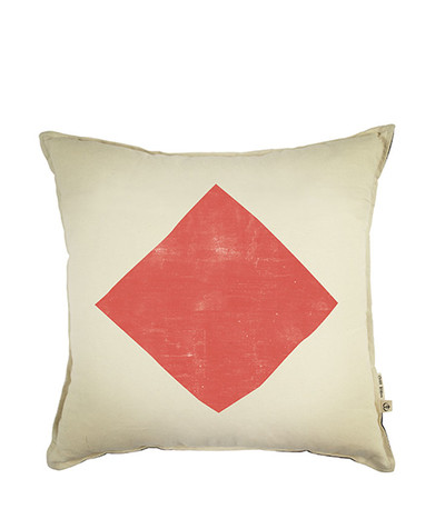 Large Space of Love Cushion - Red  Cushion