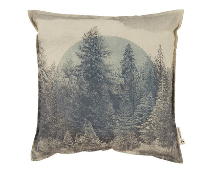 Wilderness Cushion - Charcoal 45*45
