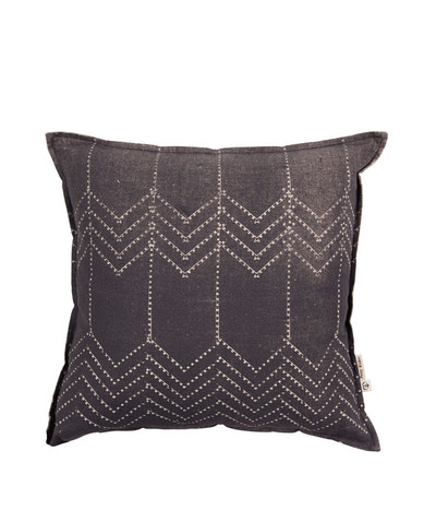 Running Bear Cushion - Dk Charcoal