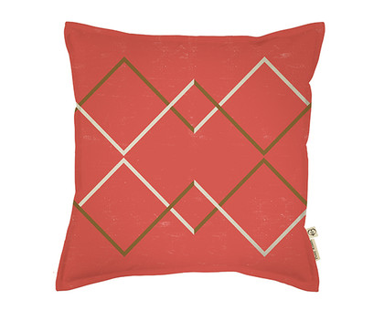 Going North Cushion Cover - Man Red / Earth