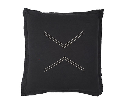 Nomads Cushion - Dark Char