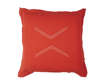Nomads Cushion Cover - Man Red
