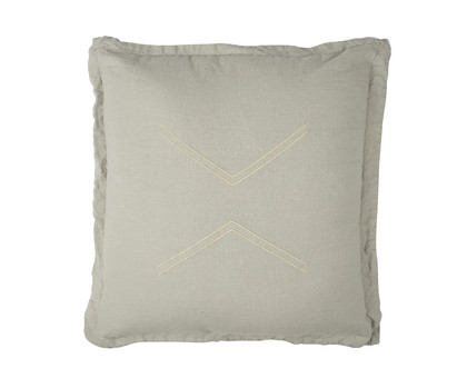 Nomads Cushion - Fern Grey