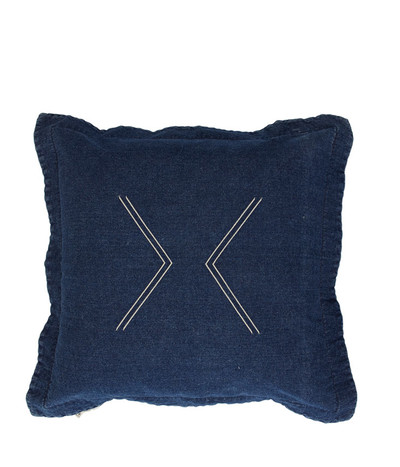 Nomad Cushion - Vintage Washed Denim