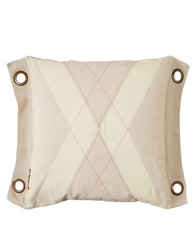 World Flag Cushion - Natural
