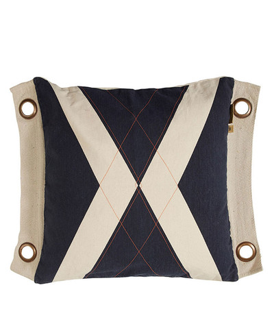 World Flag Dark Sea Cushion