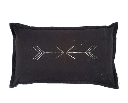 Little Arrow Cushion - Black