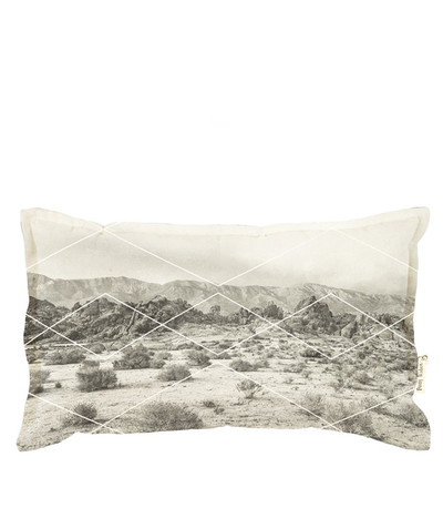 Sunset Dreams Cushion - Charcoal
