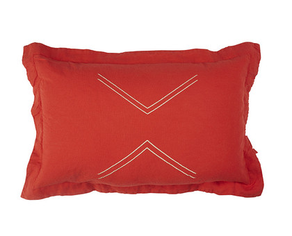 Lil Nomads Cushion - Mandarin Red