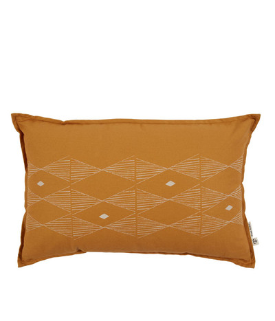 Lil Spirit Weaver Cushion - Mustard / Natural 55*35