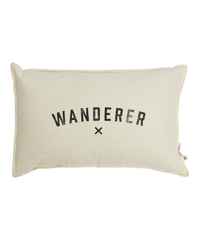 Wanderer Cushion - Natural / Black 55*35