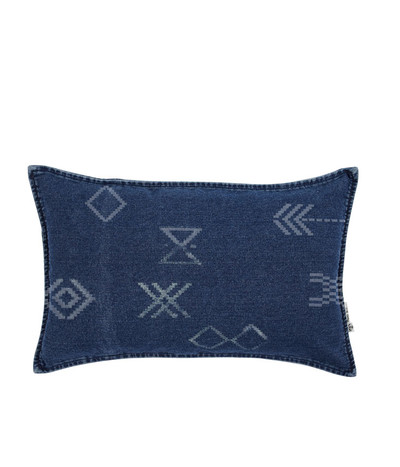 Lil Moroccan Dreams Cushion - Denim
