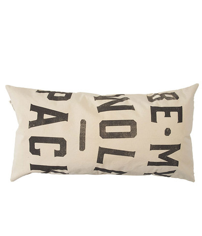 Wolf Pack Cushion - Natural