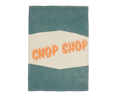 Chop Shop Tea Towel