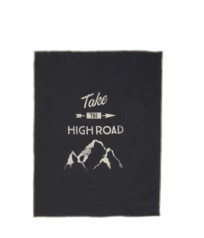 High Road Tea Towel - Mid Char