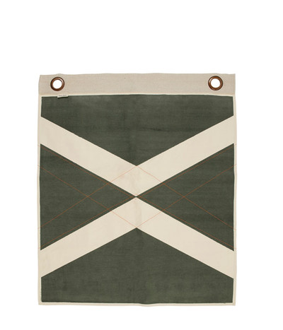 World Flag Banner - Olive