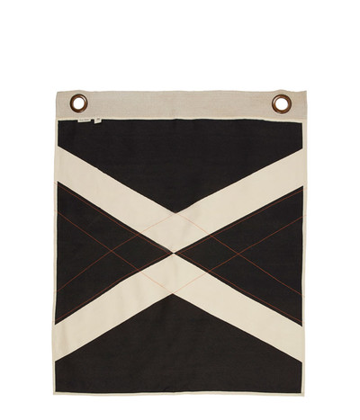 World Flag Banner - Black