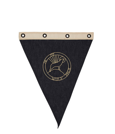 Wolf Pack Wall Flag