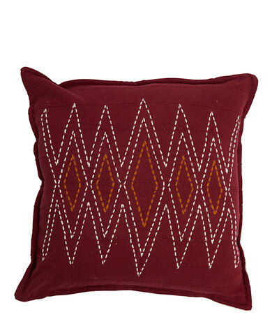 Given Cushion Cover | Tawney Port/Oats | 55*55