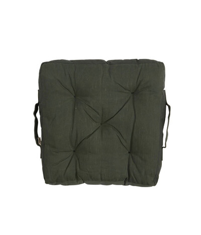 Camp Fire Padded Seat Cushion | Forest Green