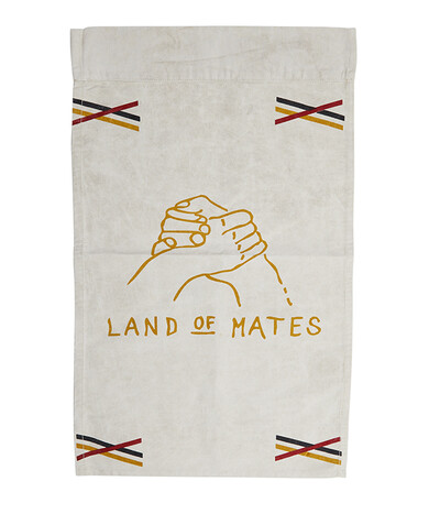 Land of Mates Recycled Canvas Wall Banners | Recycled Natural | 80*50